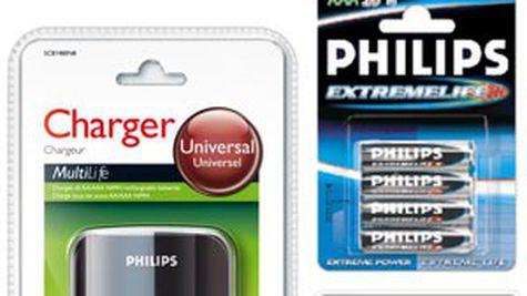 Baterii si incarcatoare de la Philips