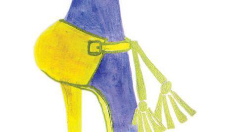 Cum sa port ciorapii in culori puternice?