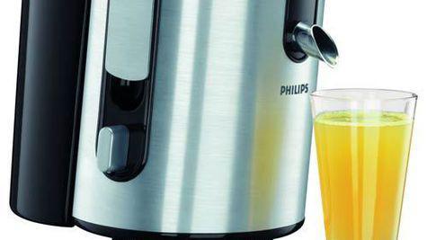 Sanatate intr-un pahar cu storcatoarele de fructe de la Philips