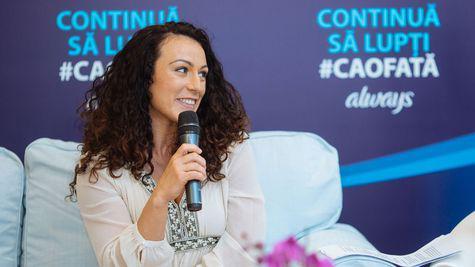 (P) Povestea unei campioane: Andreea Chițu, ambasadoarea campaniei Continuă Să Lupți #CaOFată