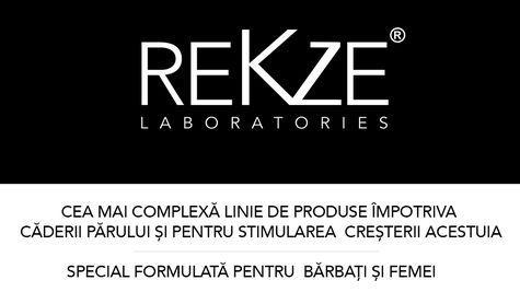 (P) REKZE Laboratories, o line unica si inovatoare impotriva caderii parului