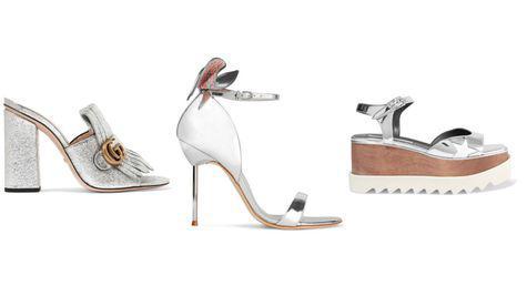 Sandalele & pantofii argintii sunt la putere in noul sezon!