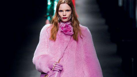 Fashion trend: Pink couture
