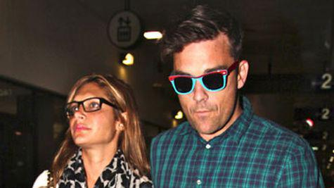 Robbie Williams se casatoreste de Valentine's Day