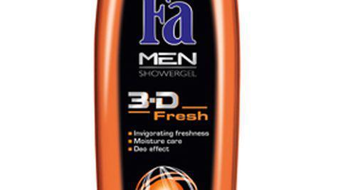 Noile geluri de dus FA Men 3D Fresh