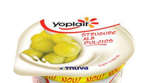 Noul iaurt Yoplait Strugure Alb Dulcios de la Tnuva