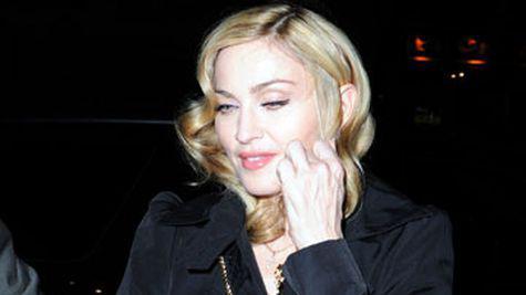Madonna zboara cu bucatarul