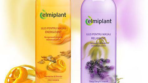 Uleiuri Elmiplant pentru masaj revigorant sau relaxant