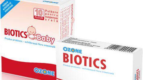 Biotics intotdeauna impreuna cu antibioticul