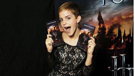 Emma Watson bea vin de la sapte ani