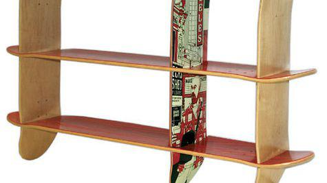 Skateboard si design interior