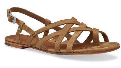 Sandale din piele naturala, UGG Australia