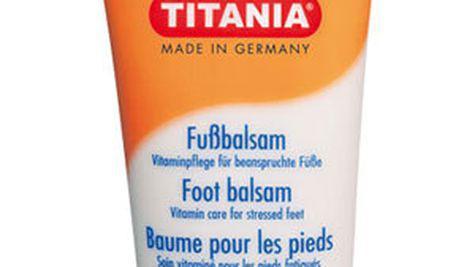 Balsamul Titania pentru picioare