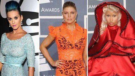 Premiile Grammy 2012: ce rochii au purtat vedetele