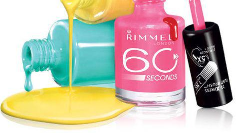 Noul lac de unghii 60 Seconds, Rimmel London