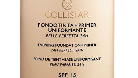 Un ten perfect cu Collistar Evening Foundation+Primer 24h Perfect