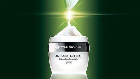 Crema fundamentala de zi Anti-age Global, Yves Rocher