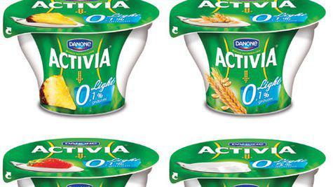 Activia Light, Danone, iaurt cu 0% grasime