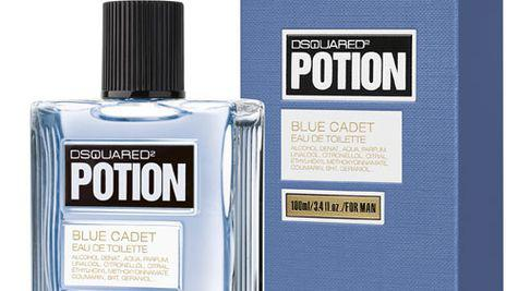 Noul parfum barbatesc Dsquared Potion Blue Cadet