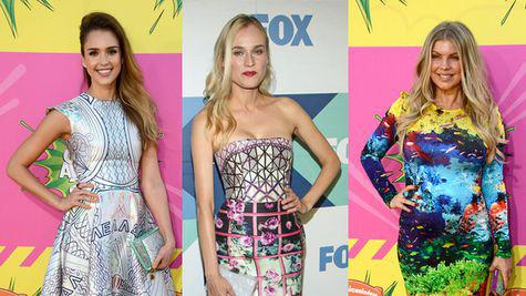 Hollywood Style: Vedete in tinute Mary Katrantzou