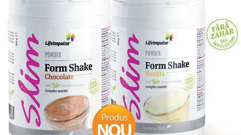 Life Care te ajuta sa fii in forma cu noile Form Shake!