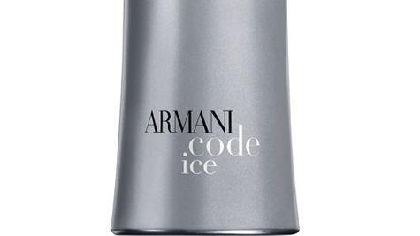 Noul parfum masculin Giorgio Armani Code Ice