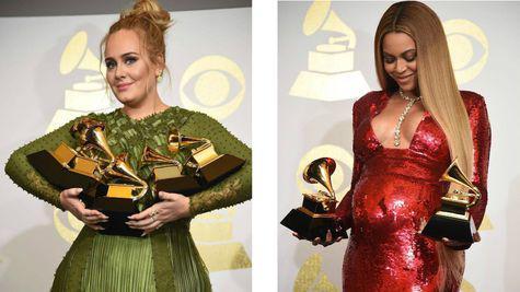 Adevarata castigatoare de la Premiile Grammy: Adele sau Beyonce?