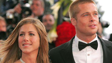 Jennifer Aniston si Brad Pitt