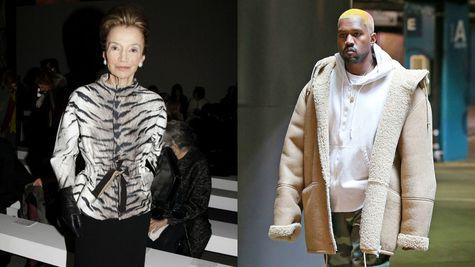 Lee Radziwill vs Kanye West