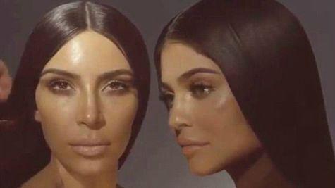 Kim Kardashian si Kylie Jenner