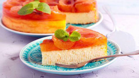 Cheesecake cu caise
