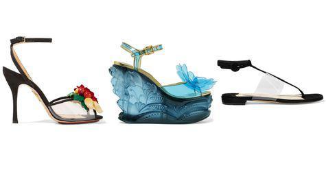 sandalele din PVC
