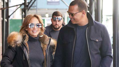Jennifer Lopez si Alex Rodriguez