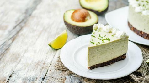 Cheesecake cu avocado si lime