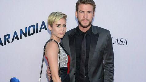 Miley Cyrus, imagine adorabila cu Liam Hemsworth