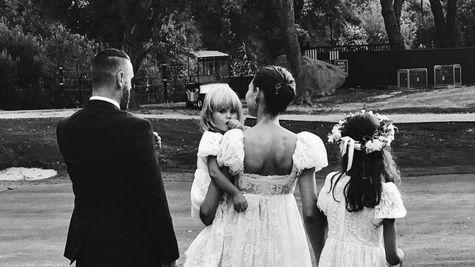 Modelul italian Bianca Balti s-a casatorit