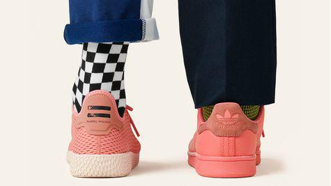 Colectia Pharrell Williams x Adidas Tennis Hu, disponibila pe Stylebop.com