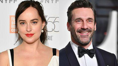 Dakota Johnson si Jon Hamm, noul cuplu de la Hollywood?