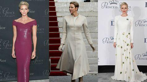 Printesa Charlene de Monaco, intotdeauna o aparitie perfecta