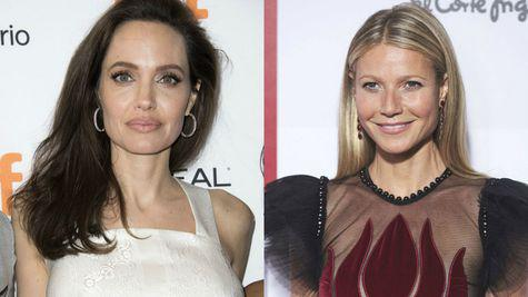 Angelina Jolie si Gwyneth Paltrow, hartuite sexual