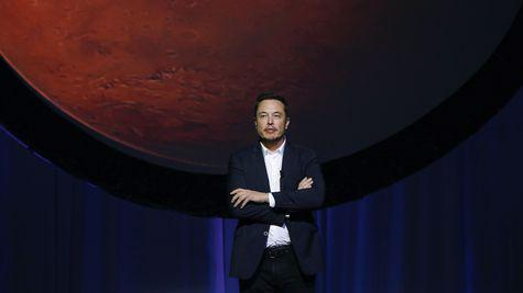 Take me to Mars, Mr.Musk!
