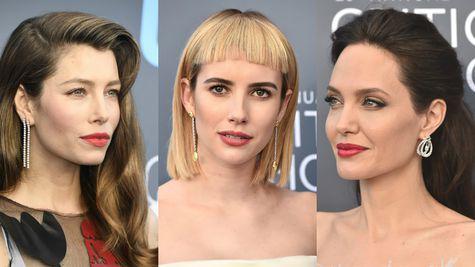 Critics' Choice Awards 2018: Cele mai frumoase coafuri și machiaje