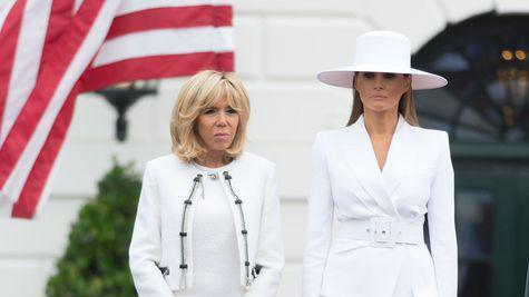 """Brigitte Macron despre Melania Trump """"Nu are voie să iasă din casă"""""""