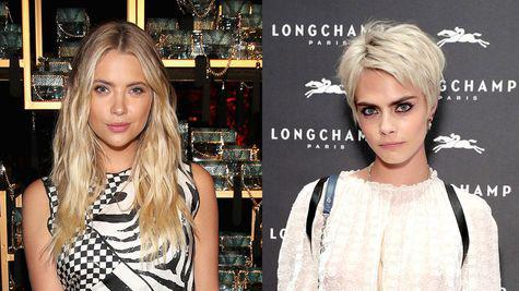 Cara Delevingne și Ashley Benson