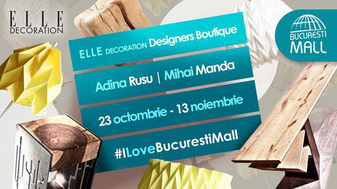 Lightplay și Brut Concept, la ELLE Decoration Designers Boutique