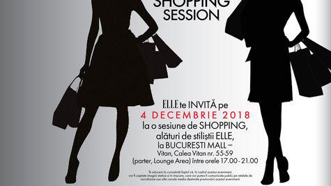 Stylish Shopping Session, un eveniment marca ELLE România & București Mall