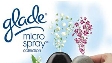 Noul odorizant de camera Glade Microspray Collection