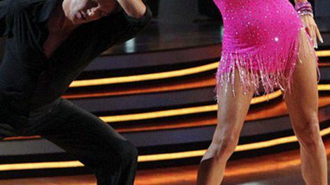 "Pamela Anderson in forma pentru ""Dancing With The Stars"""
