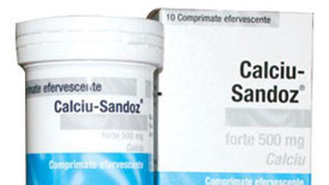 Calciu Sandoz Forte va protejeaza oasele