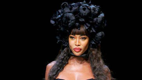 Naomi Campbell, in lacrimi la Oprah